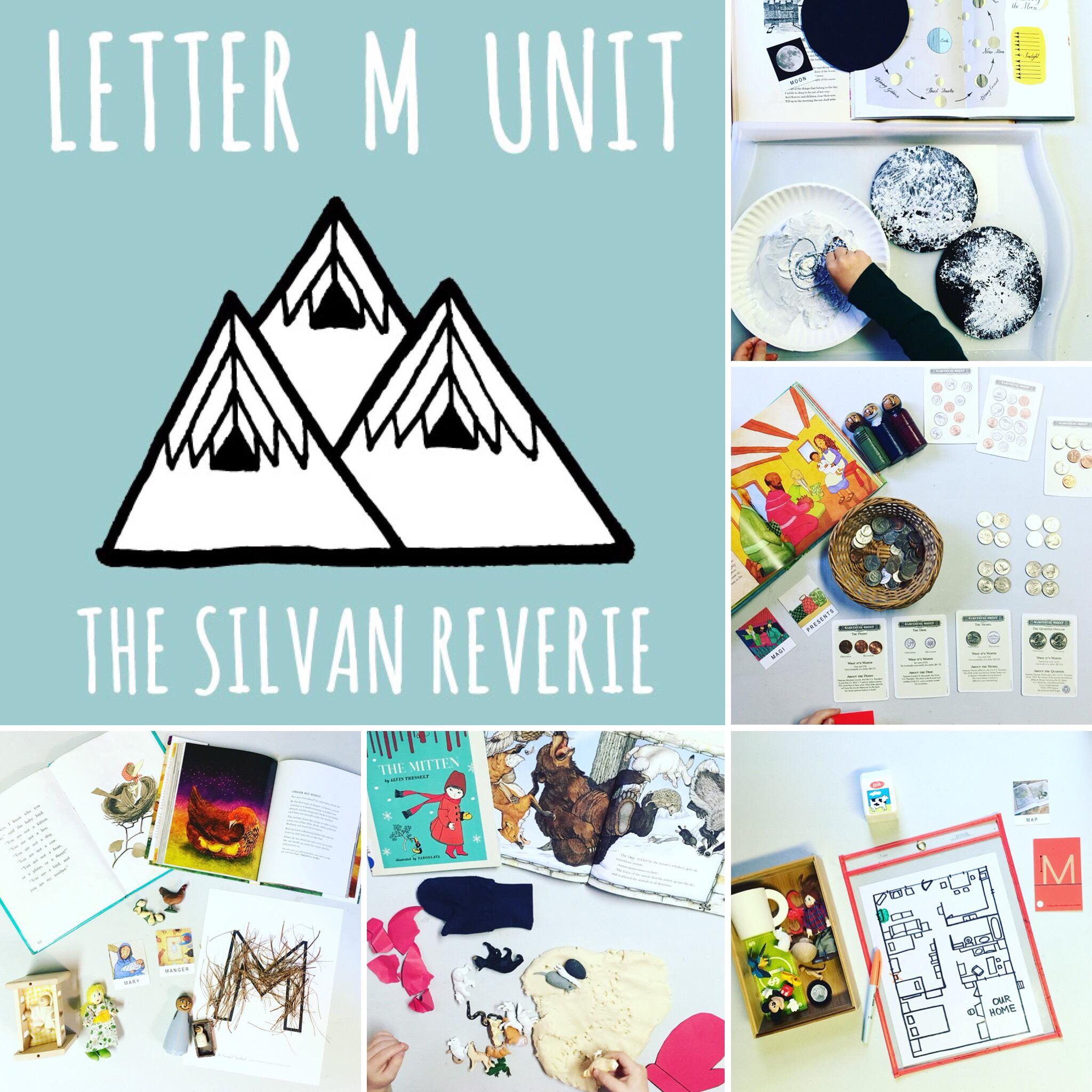 Letter M Preschool Unit