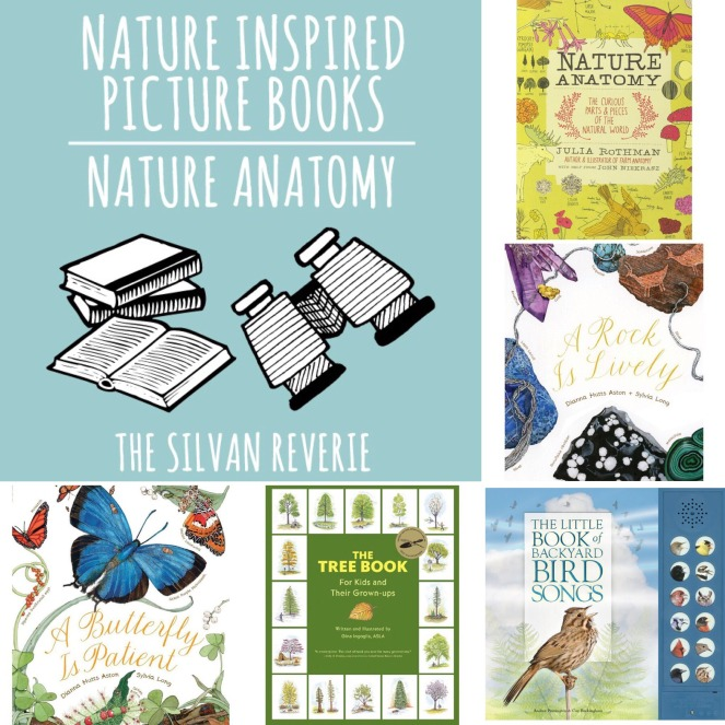 nature anatomy books