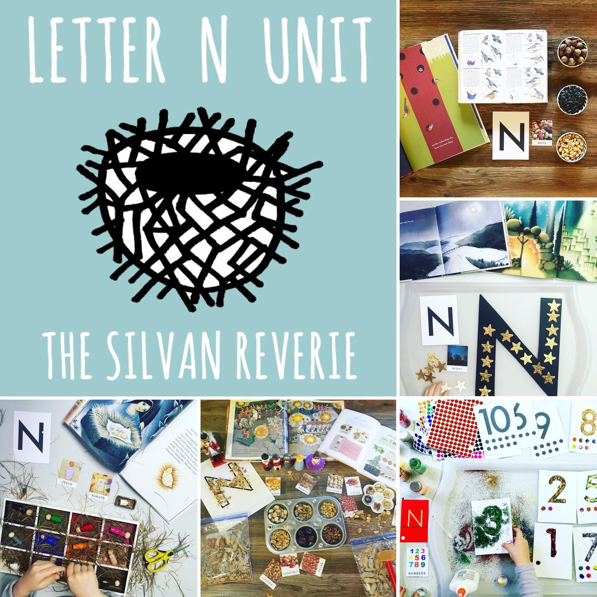 Letter N Preschool Unit