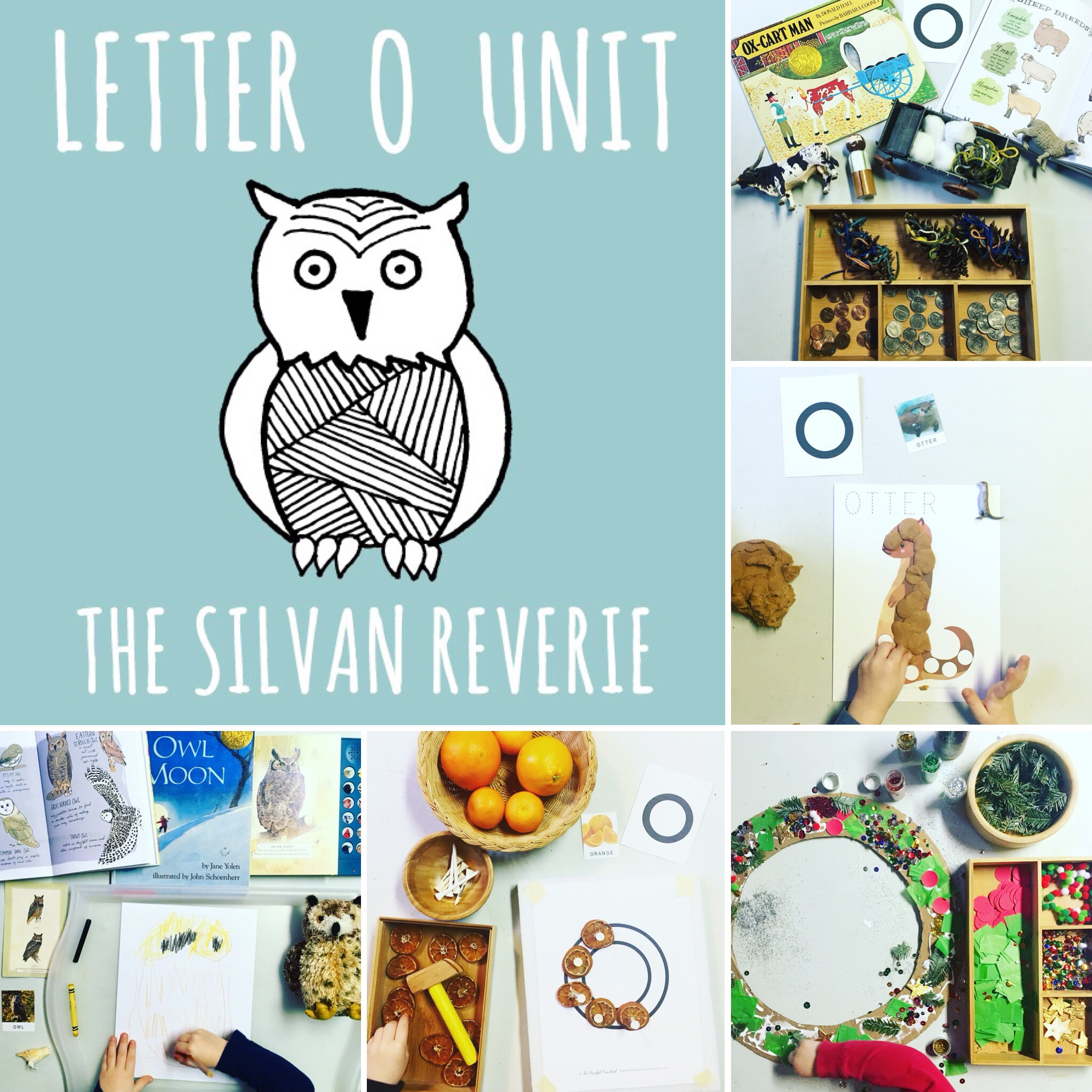 Letter O Preschool Unit