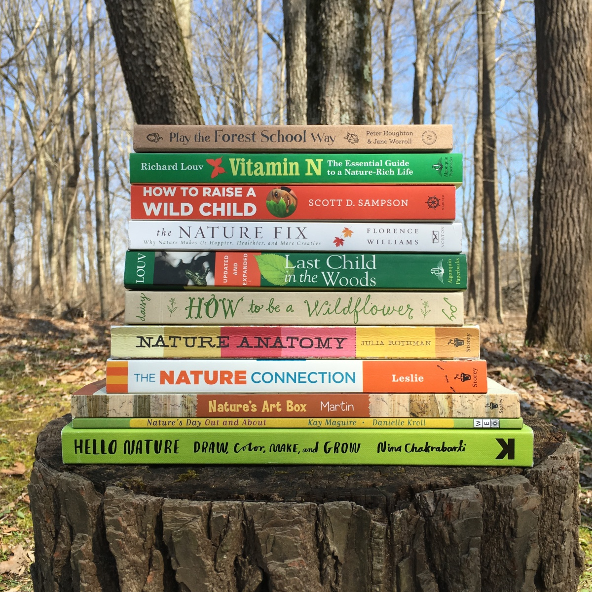 Books to Inspire Outdoor Play & Learning