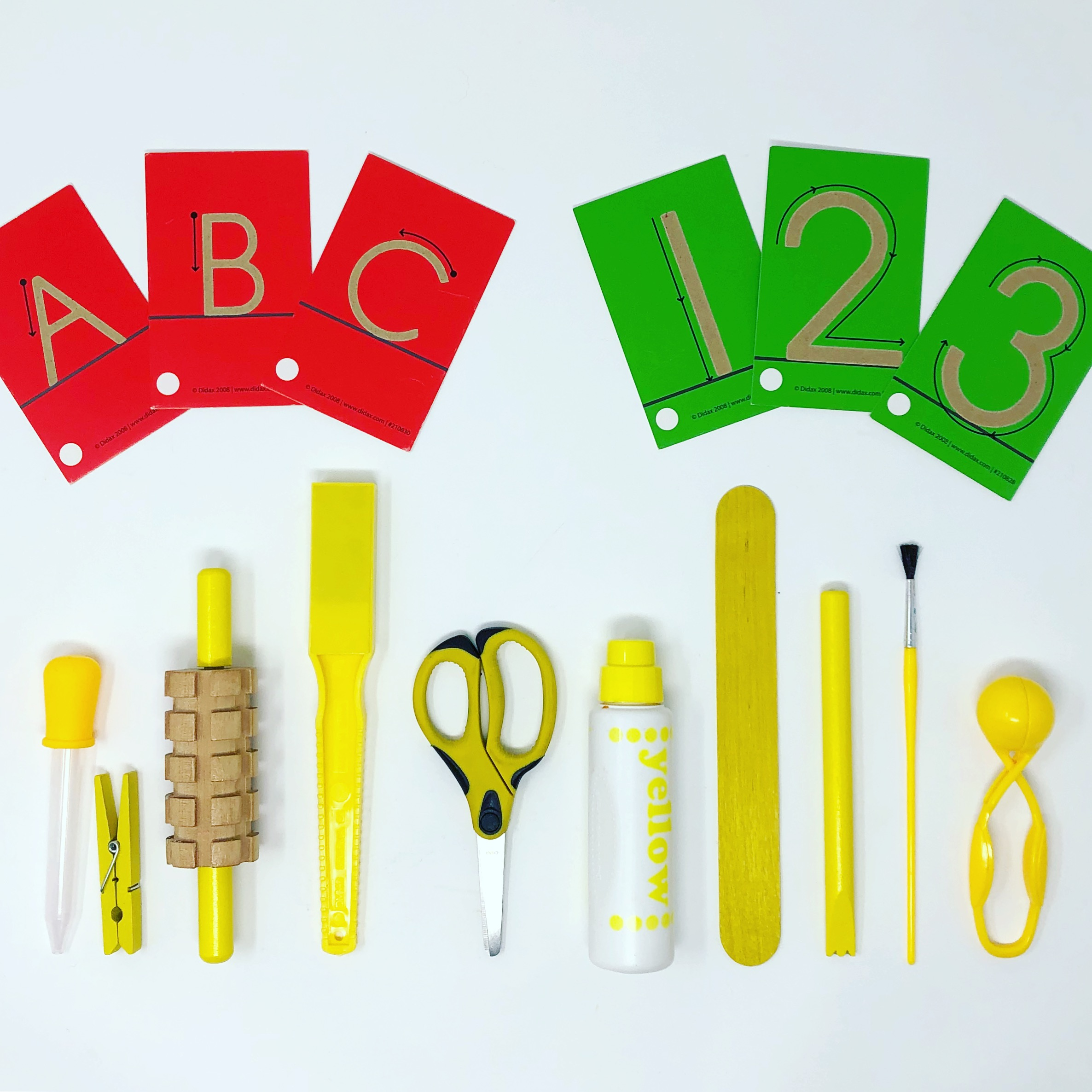 Preschool Supplies & Resources by Learning Category