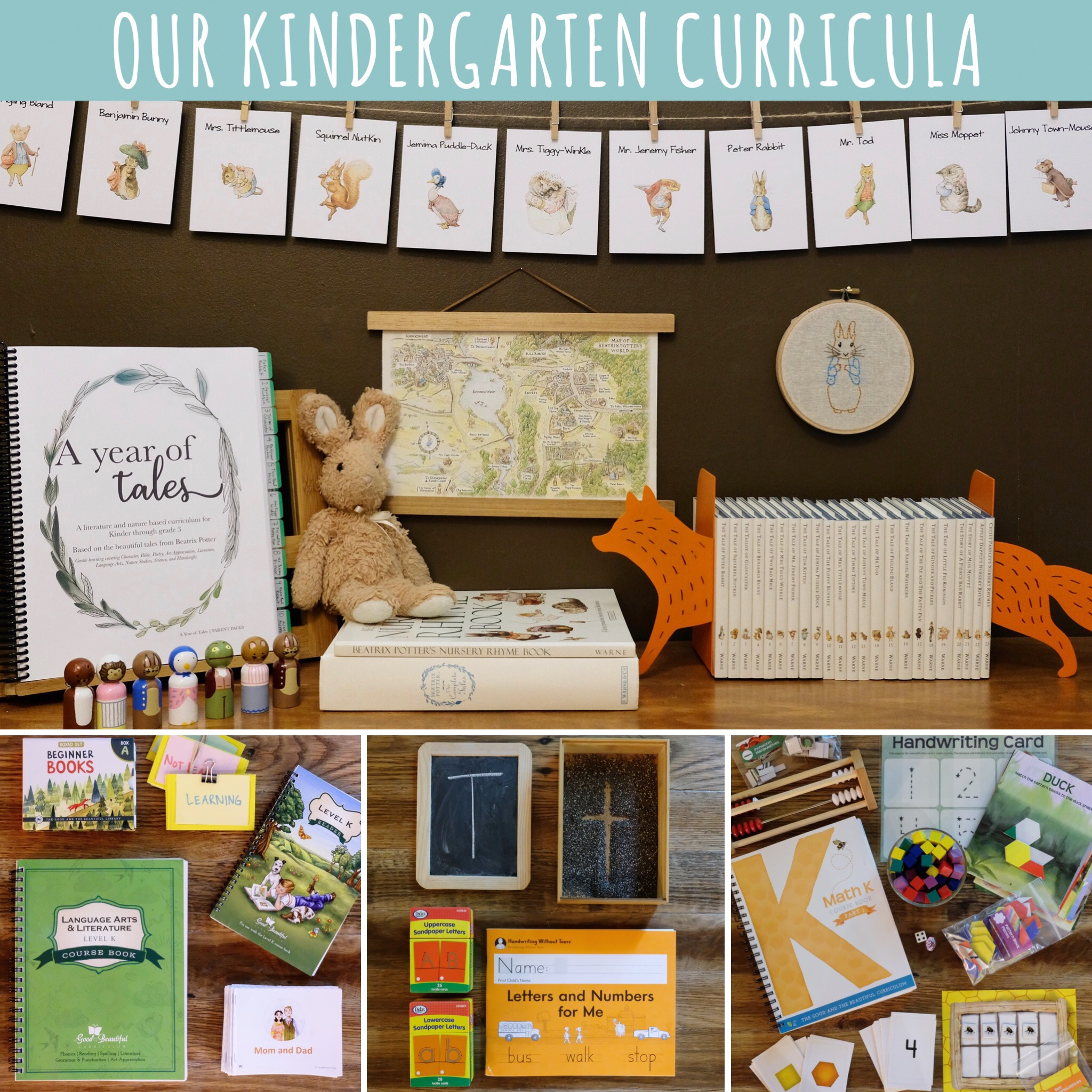 Our Kindergarten Year Curricula