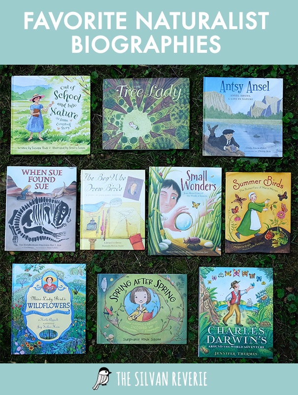 Favorite Naturalist Picture Book Biographies