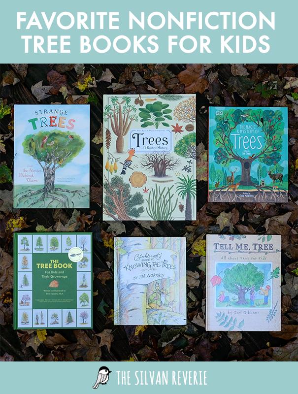 Favorite Nonfiction Tree Books - The Silvan Reverie