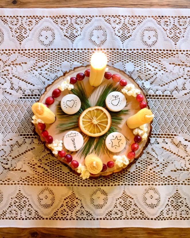 DIY Advent Wreath - The Silvan Reverie