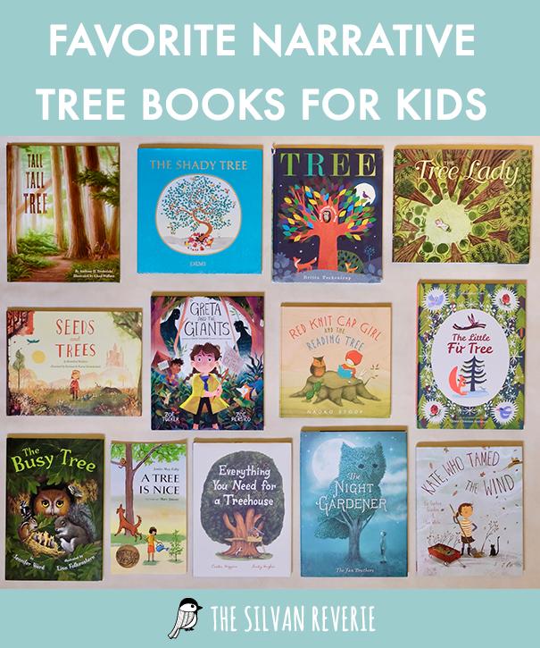 Favorite Narrative Tree Books - The Silvan Reverie
