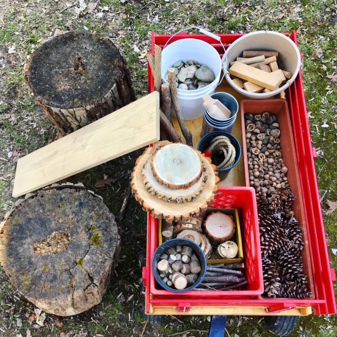 Nature Loose Parts Play - The Silvan Reverie