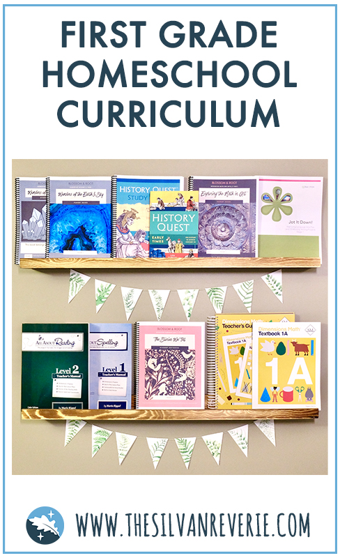 Our First Grade Homeschool Curriculum Choices