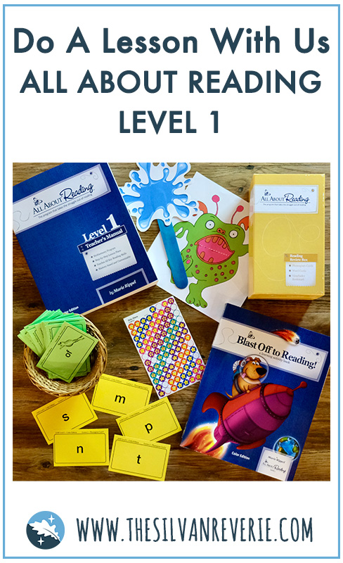 Do A Lesson With Us: All About Reading Level 1