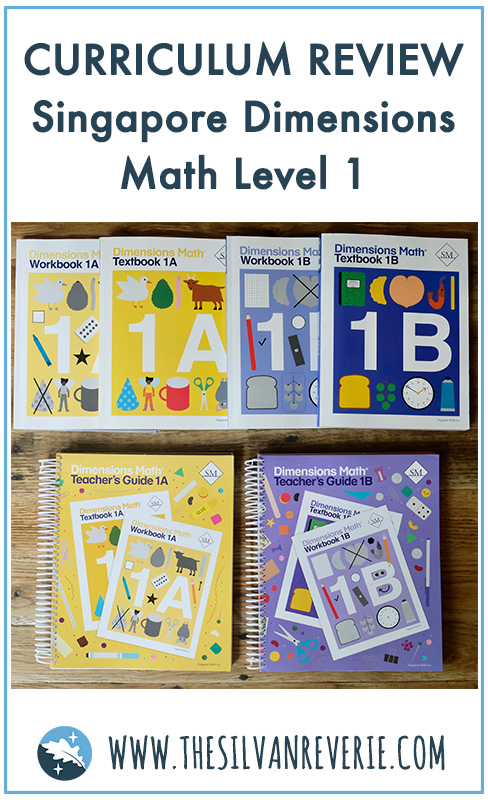 Dimensions Math Level 1 Curriculum Review and Favorite Math Resources