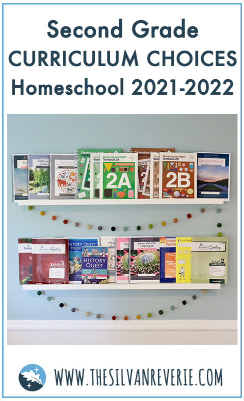 Our Second Grade Homeschool Curriculum Choices